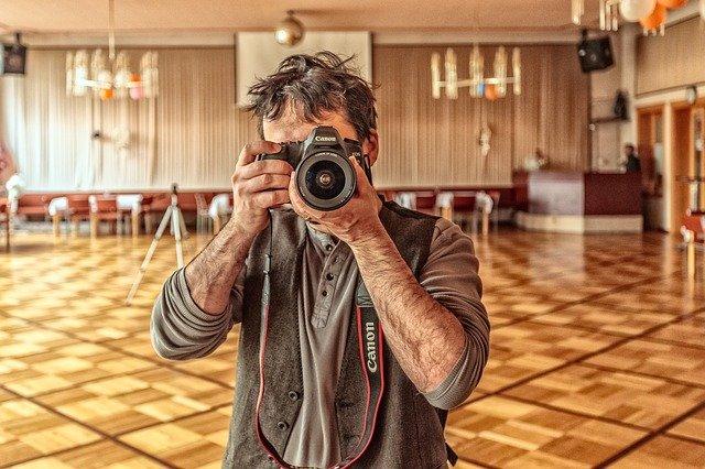 fotograf a fotoaparát