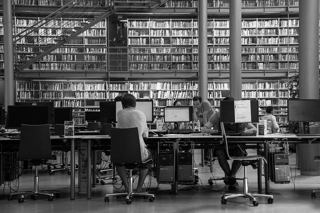 studium v knihovně