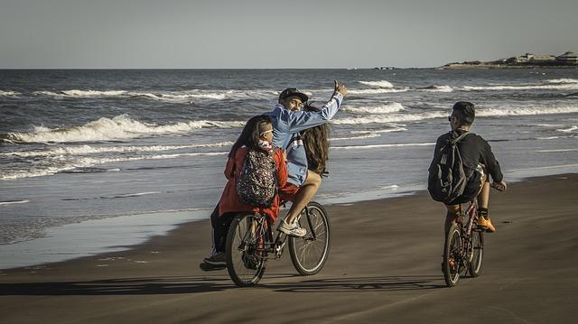 Rodinka u moře